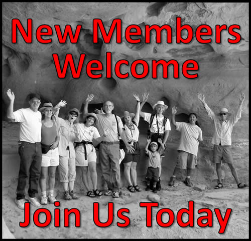 Members welcome
