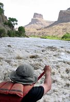 paddling the green river