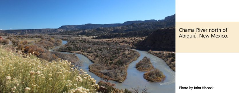 Old Spanish Trail Association - Chama River New Mexico